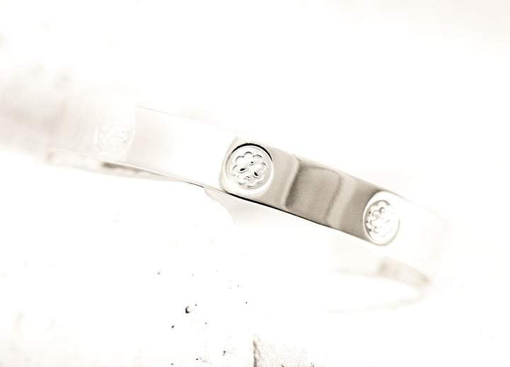 Pieces of Me Silver Loving Cuff