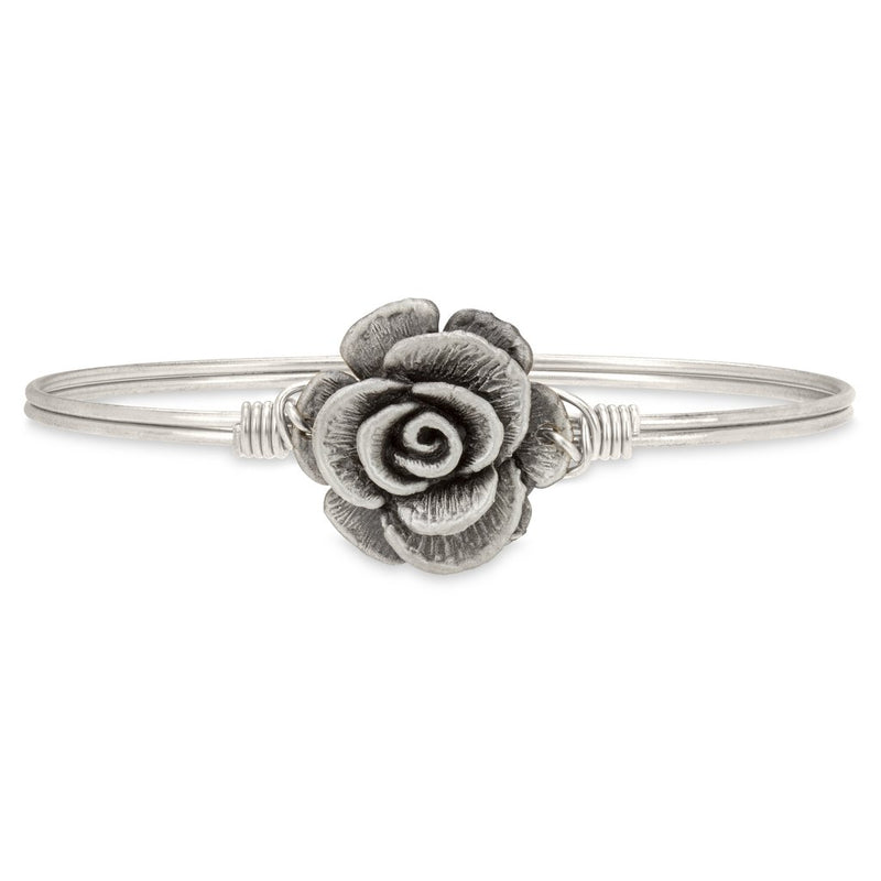 Luca and Danni Rose Silver Bangle Bracelet