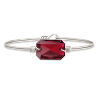 Luca and Danni Dylan Scarlet Silver Bangle Bracelet