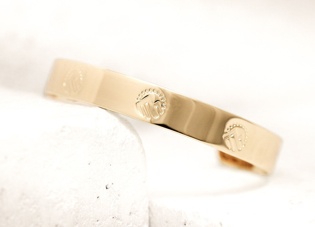 Pieces of Me Gold Adventurous Cuff