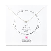 "Sterling Silver 16"" The Circle Necklace"