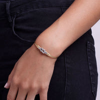 Luca and Danni Love Knot Bangle Bracelet