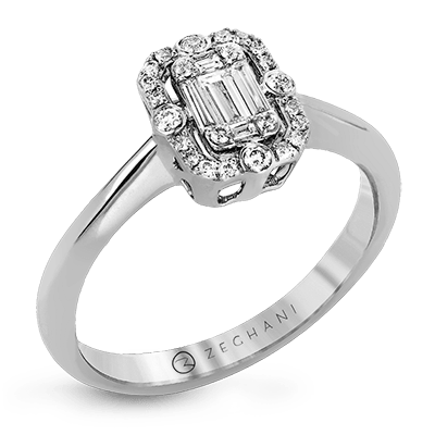 Nespoli Jewelers .26ct 14k White Gold Engagement Ring