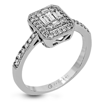 Nespoli Jewelers .48ct 14k White Gold Engagement Ring