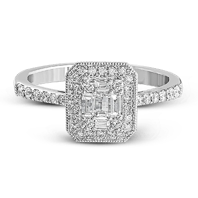 .48ct 14k White Gold Engagement Ring