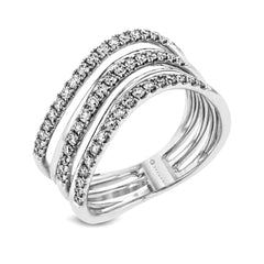 14kt White Gold .50ct Diamond Right Hand Ring