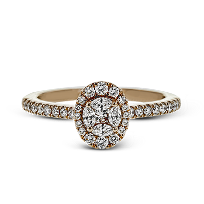 .50ct 14k Rose Gold Engagement Ring