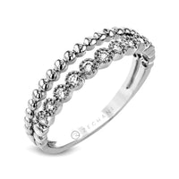14kt White Gold .15ct Diamond Right Hand Ring