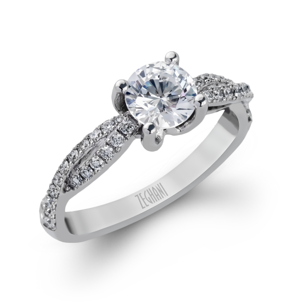 Engagement Ring Semi-mount 717Z
