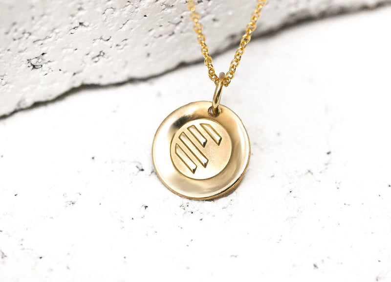 Pieces of Me Gold Athletic Necklace