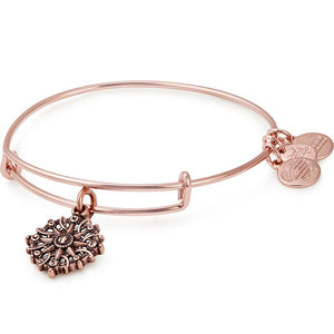 Rose Gold Compass III Bangle