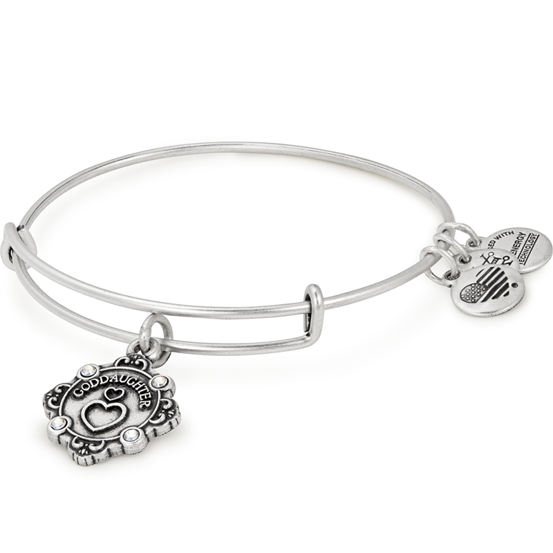 Silver Goddaughter II Bangle