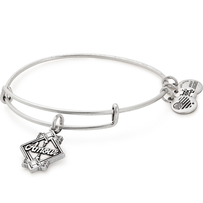 Silver Amour Bangle