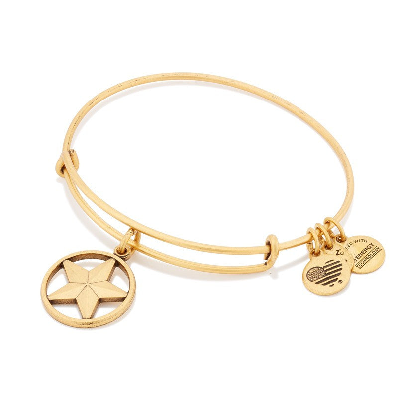 Gold Star of Strength Bangle