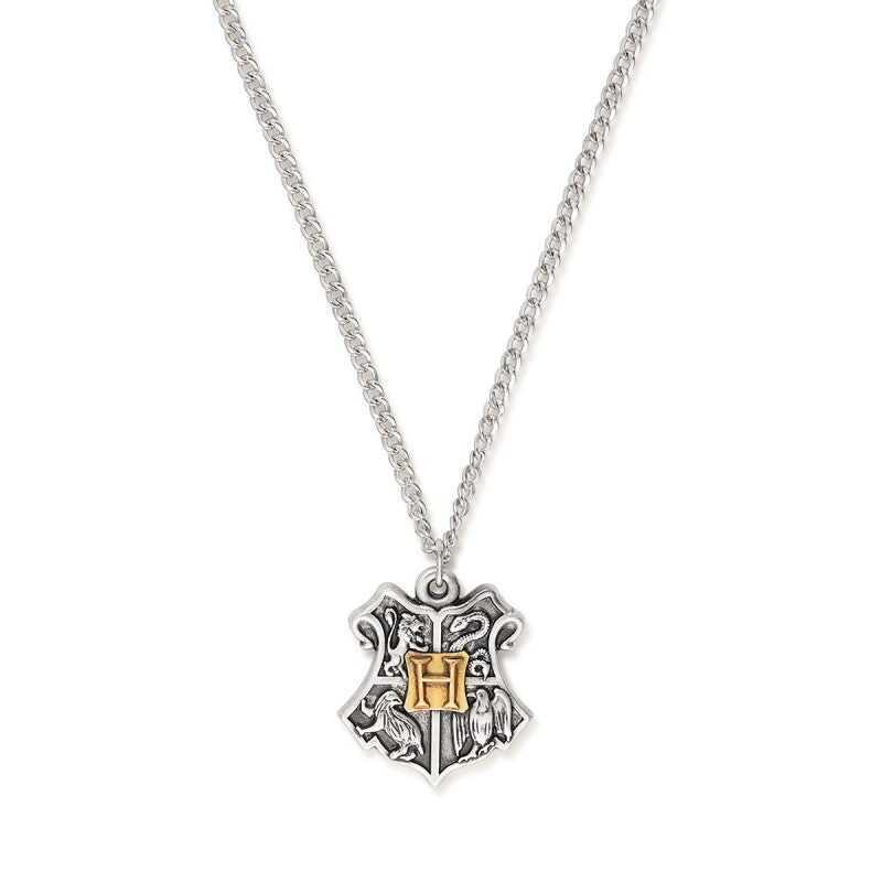 Harry Potter Hogwarts Two Tone Necklace