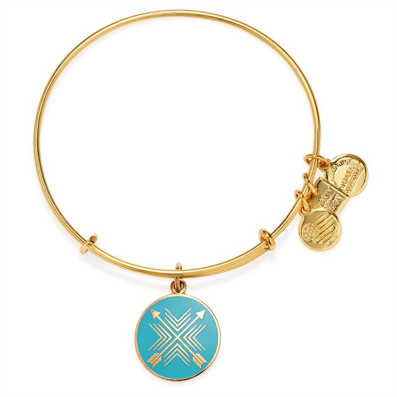 CBD Gold Arrows of Friendship Bangle