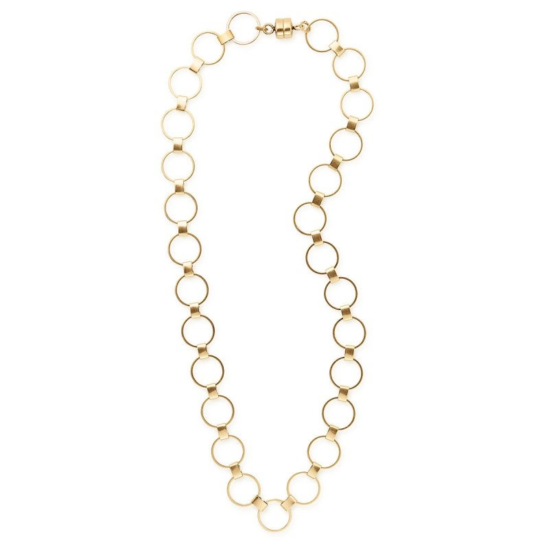 Gold Calypso 20 inch Magnetic Necklace