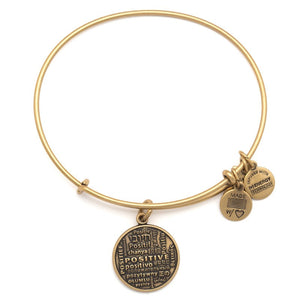 CBD Gold Joe Andruzzi Positive Bangle