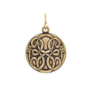 Gold Path of Life Pendant
