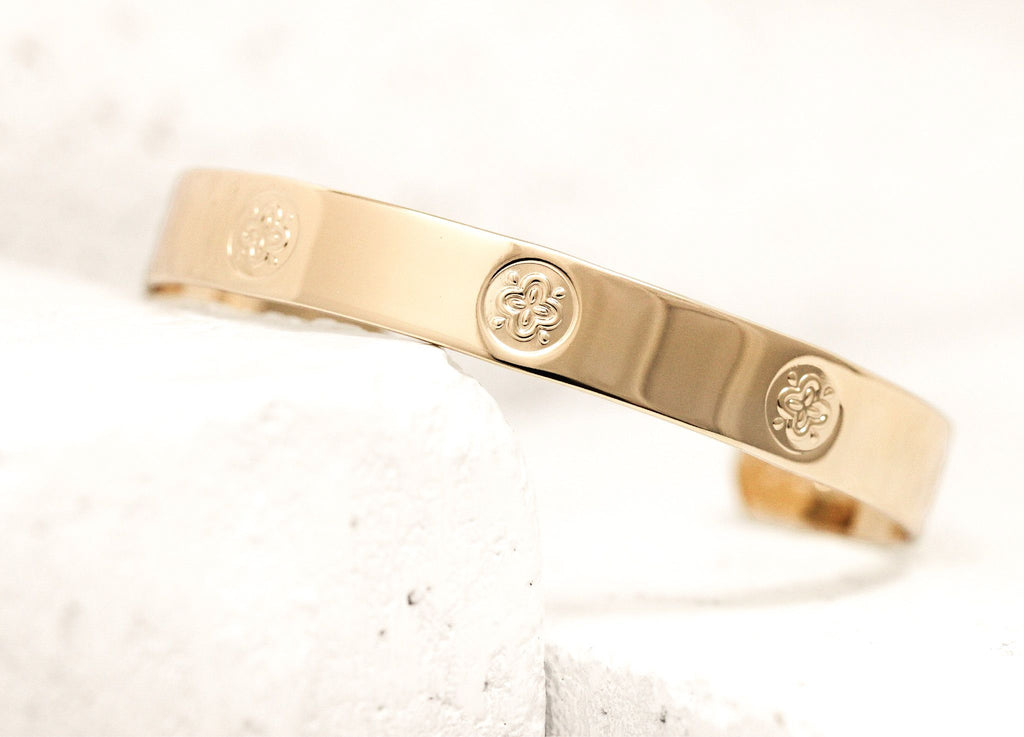 Pieces of Me Gold Friendly Cuff