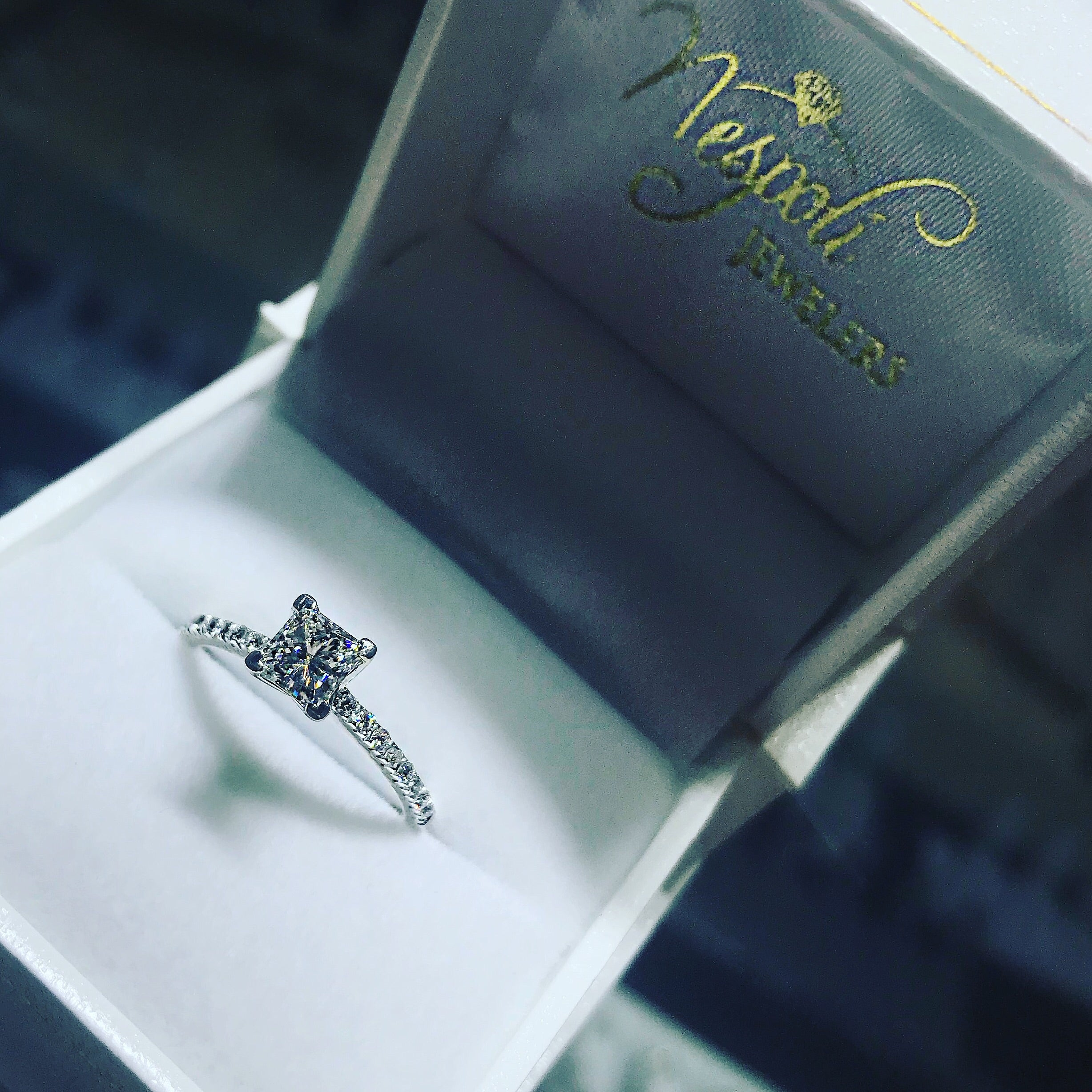 Engagement Ring Semi-mount 3073