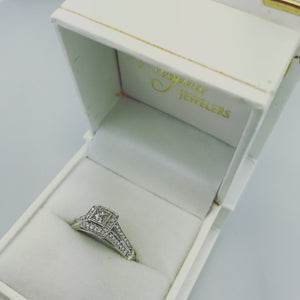 .51ct 14k White Gold Engagement Ring