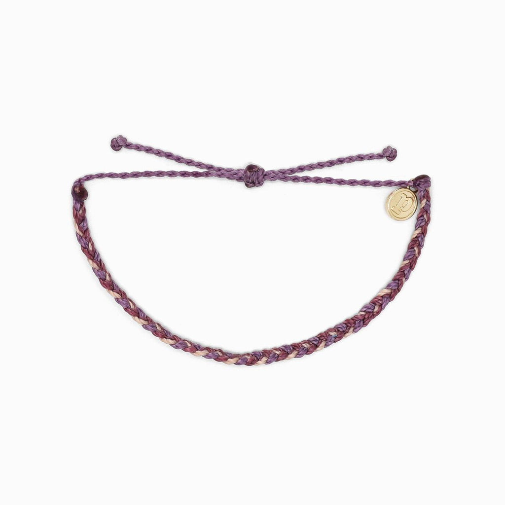 Multi Mini Braided Purple Peak Bracelet