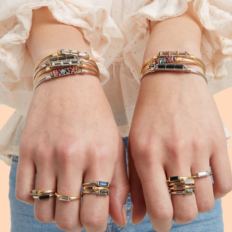 Luca and Danni Mini Hudson Bangle Bracelets