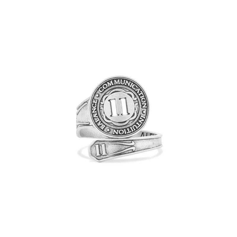 Sterling Silver Spoon Ring Number Eleven