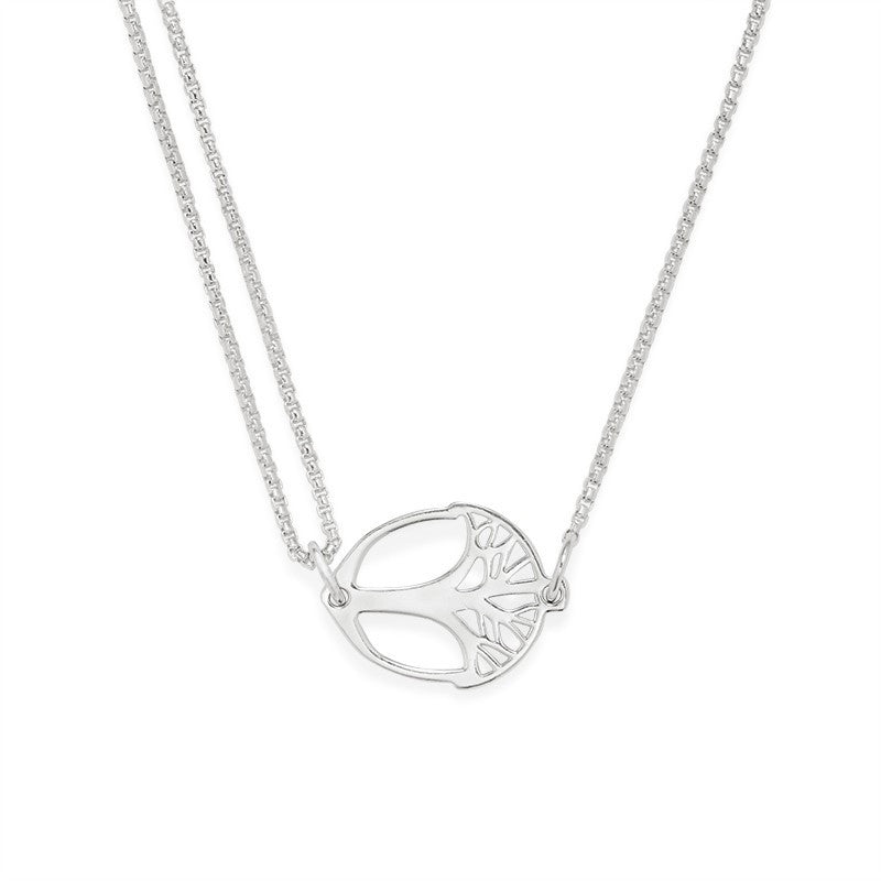 Sterling Silver Unexpected Miracles Pull Chain Necklace