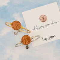 Luca and Danni Heavenly Pennies Bangle Bracelets