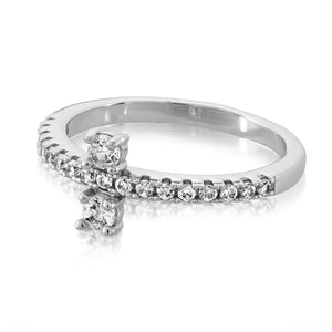 Margaret Silver CZ Ring
