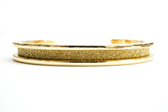 Gold Signature Hair Tie Bracelet