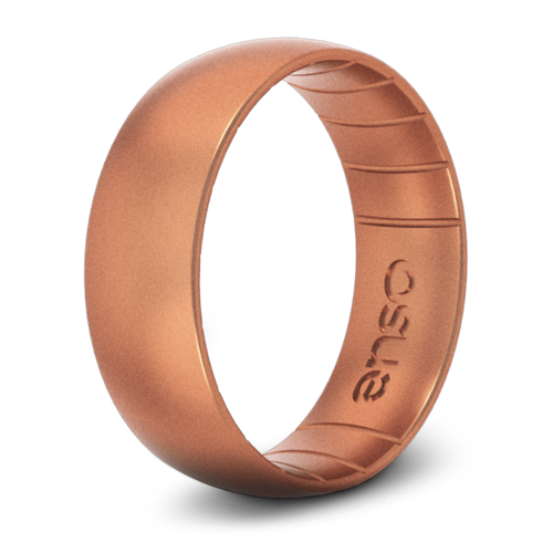 Classic Elements Copper Silicone Ring
