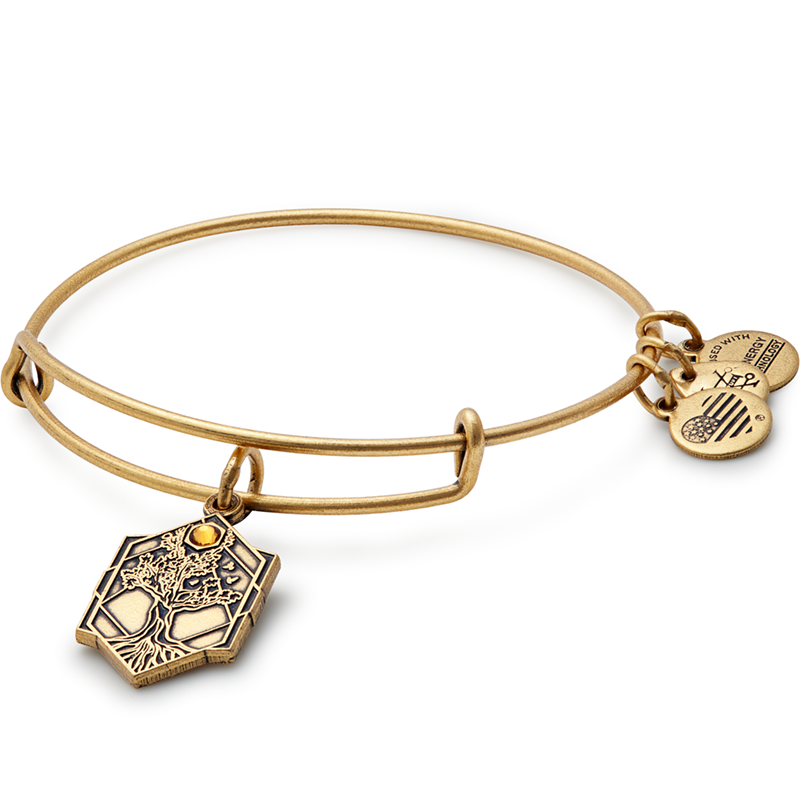 Gold Tree of Life IV Bangle
