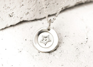 Pieces of Me Silver Passionate Necklace