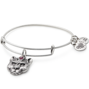 Silver Wild Heart II Bangle