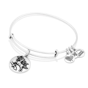 Silver Sagittarius III Bangle