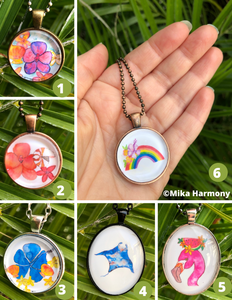 Tropical Watercolor Jewelry full of ALOHA: PreOrder Now! - Mika Harmony