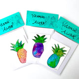 Pineapple Painting Pack! Vitamin Aloha, fresh watercolor packaged to Go!