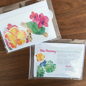 Aloha Summer Stationery Set, as featured in the Teen Choice Awards Celebrity Gift Bags!