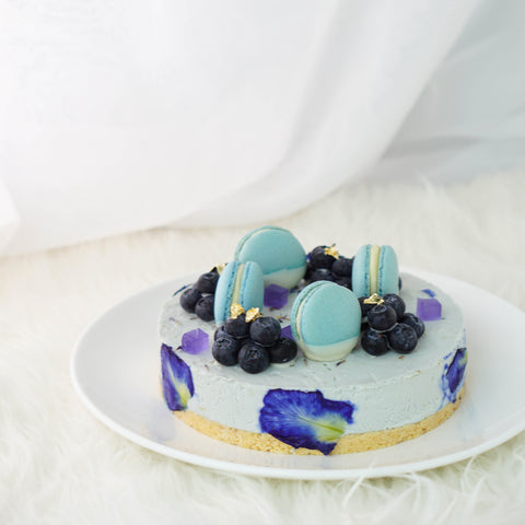Blue Fairy Cheesecake - M Cake Boutique