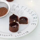Bite-sized Dark Chocolate Tartlets - M Cake Boutique