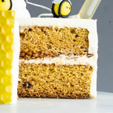 Chamomile Honey Sponge Cake - M Cake Boutique