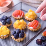 Bite-sized Fruit Tartlets - M Cake Boutique