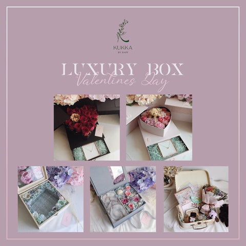Kukka by Happ - Luxury Box - M Cake Boutique