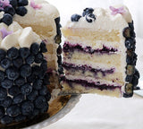 Blueberry Sponge Cake - M Cake Boutique