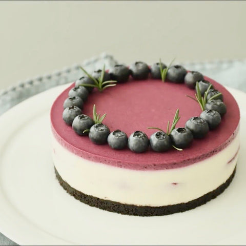 Blueberry Cheesecake - M Cake Boutique