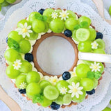 Wreath Tart