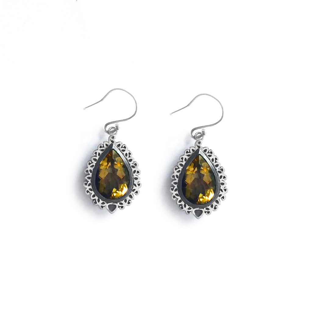 Arah Citrine Earrings